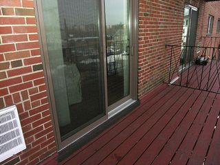 Balcony at 26 waverly in brighton mass