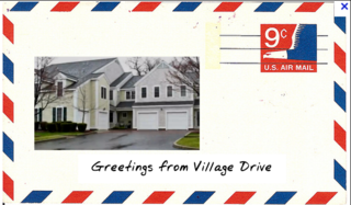 Greetings from Village Drive