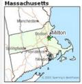 Map of Milton Mass