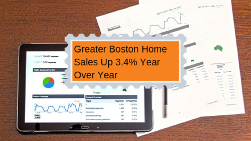 Greater Boston Home Sales Up 3.4% Year Over Year